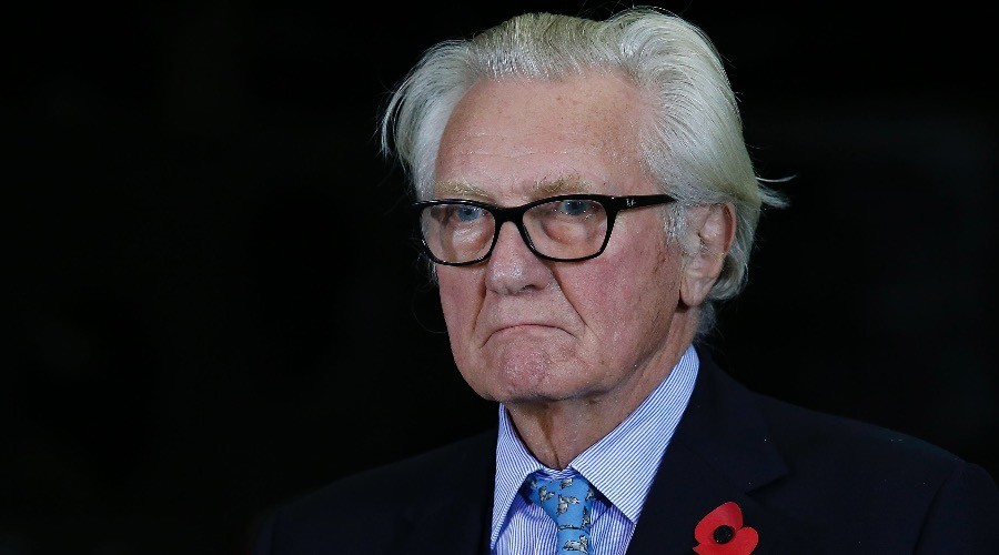 Lord Heseltine fired by Theresa May for rebelling against 'hard Brexit'