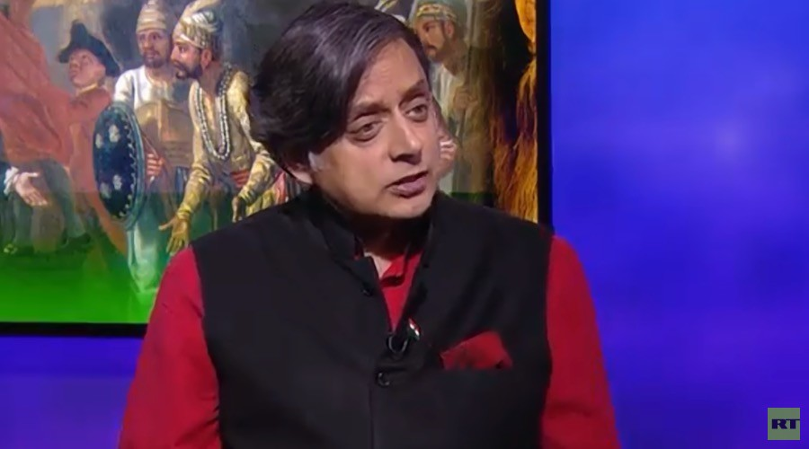 Britain suffers 'historical amnesia' over former empire, Indian MP Shashi Tharoor tells RT (VIDEO)