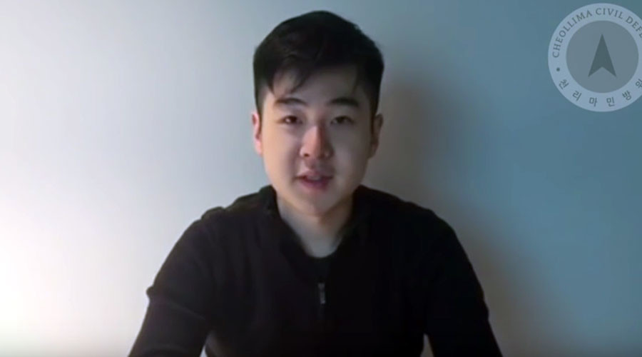 Man claiming to be Kim Jong-nam's son records video address
