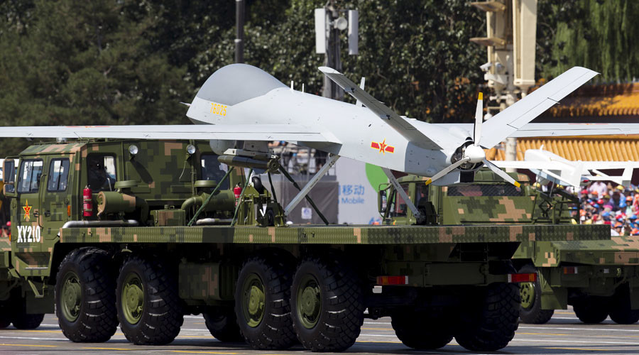 China developing military drones that can evade radar, anti-aircraft weapons – media