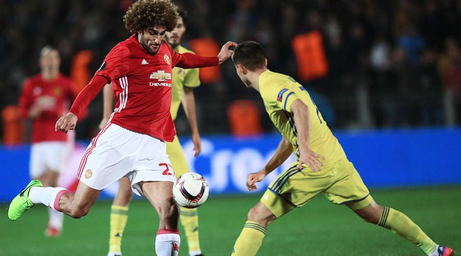 Rostov 1-1 Man United - Europa League 1st leg all square in Russia