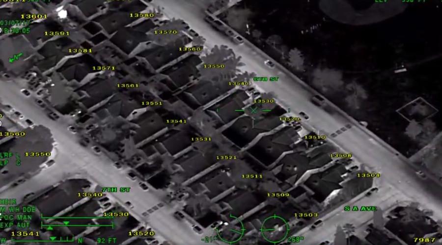 10yo boy hunted down for shining laser at police plane (VIDEO)
