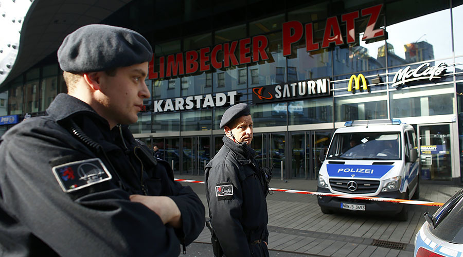 2 detained in investigation into Essen shopping mall attack threat – police (VIDEO)