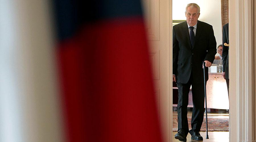 Czech President pokes fun at media, declaring himself 'agent of Putin, Trump, China & Israel'
