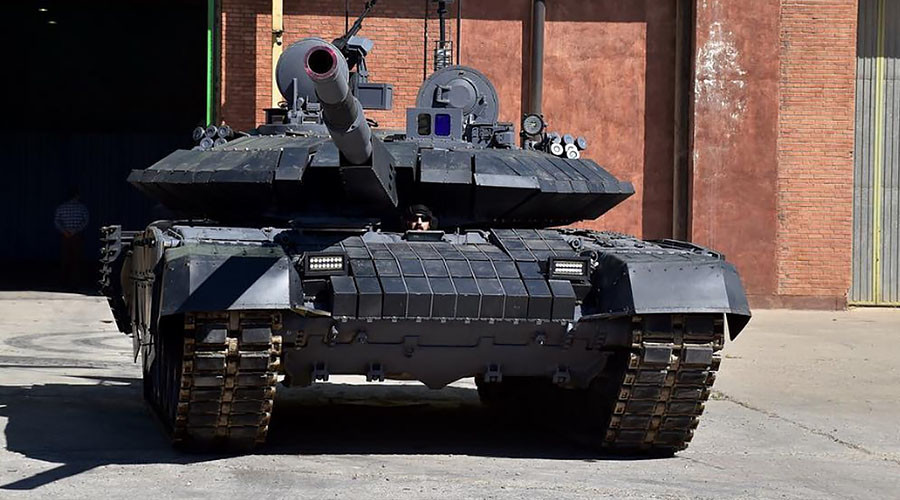 Iran announces mass production of domestic main battle tank, which looks like Russian T-90MS (VIDEO)
