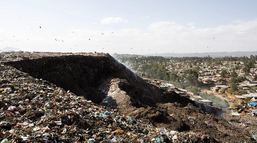 Deadly trash: 50 people killed in garbage landslide at Ethiopia's biggest dump
