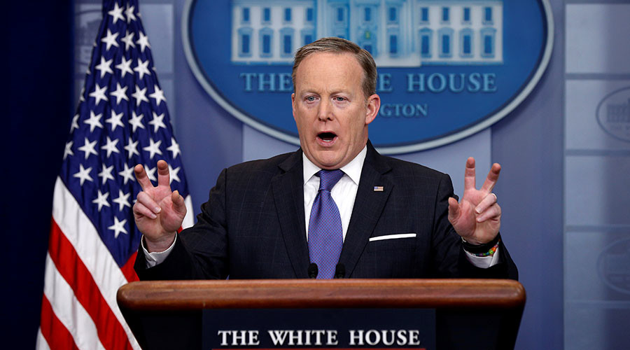'That is racism & is an implied threat': Spicer's controversial comments caught on camera (VIDEO)