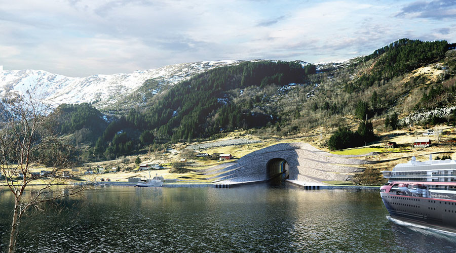 Norway considering building world's first ship tunnel