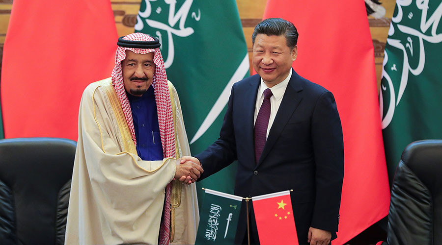 China & Saudi Arabia sign agreements worth $65bn