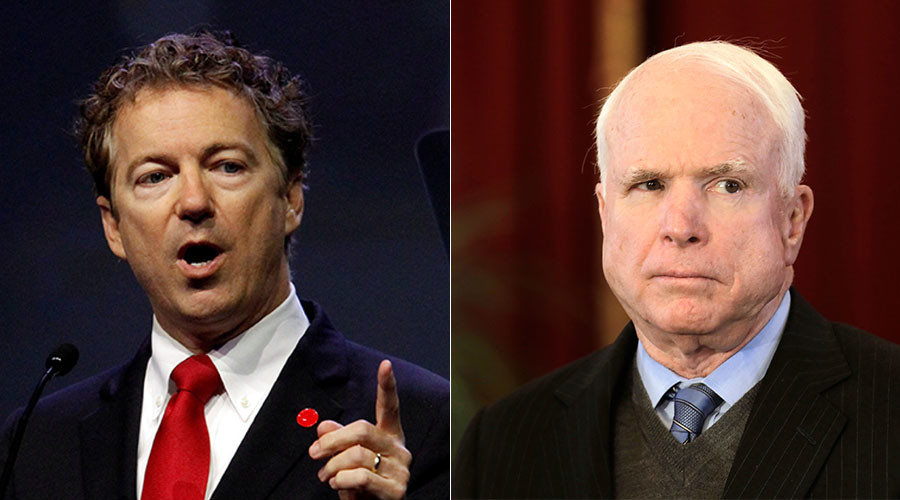 'A little unhinged': Rand Paul responds to McCain's 'working for Putin' attack