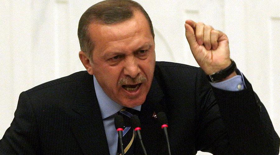 Erdogan accuses EU of anti-Islam 'crusade' over headscarf ruling
