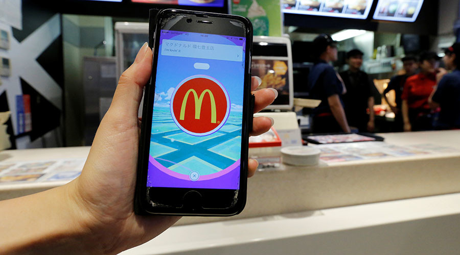 App-y meal: McDonald's tests mobile ordering