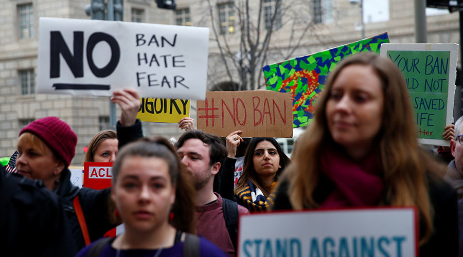 Trump's revised travel ban partially blocked by Maryland federal judge