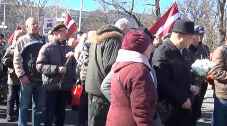 Latvian man lights up swastika Christmas ornament, authorities say it's a folk symbol