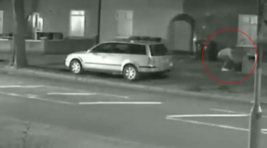 CCTV captures sex attacker stalking woman, dragging her to ground in attempted rape (VIDEO)