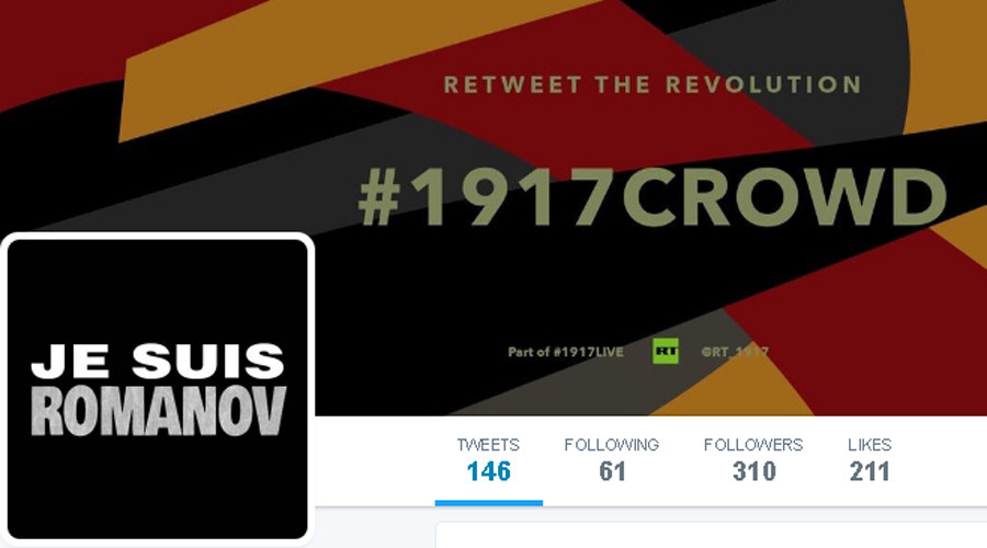 #NoMoreTsars vs #JeSuisRomanov: Russian Empire 'reacts' to monarchy's fall on Twitter