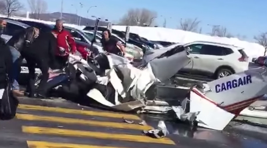 Mid-air collision over Montreal mall leaves 1 dead (PHOTOS, VIDEOS)