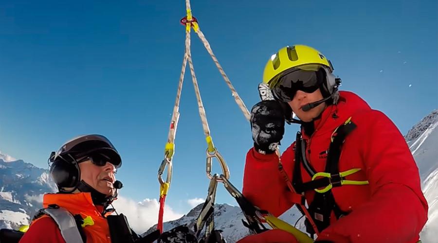 Helmet cam captures Russian skier's shocking fall (VIDEO, PHOTOS)