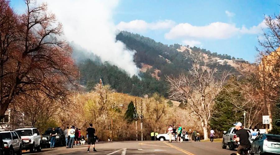 Mass evacuations as wildfire threatens Colorado City (VIDEOS, PHOTOS)