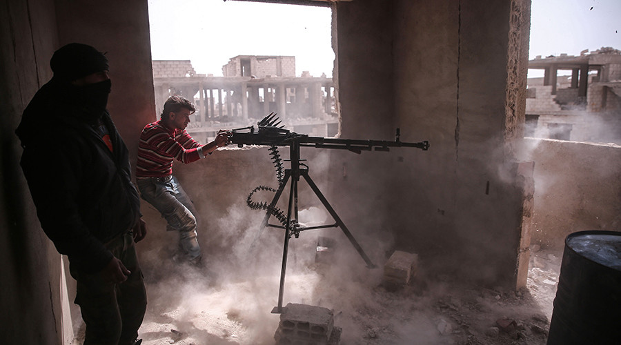 Fierce clashes in Damascus as Islamists tunnel into old city (VIDEO)