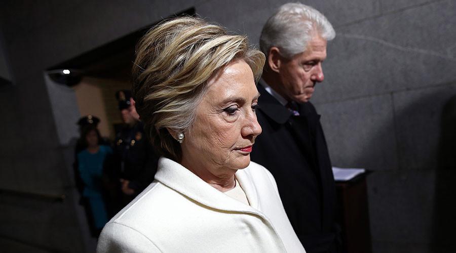 Bill & Hillary Clinton pay tribute to late 'friend' David Rockefeller