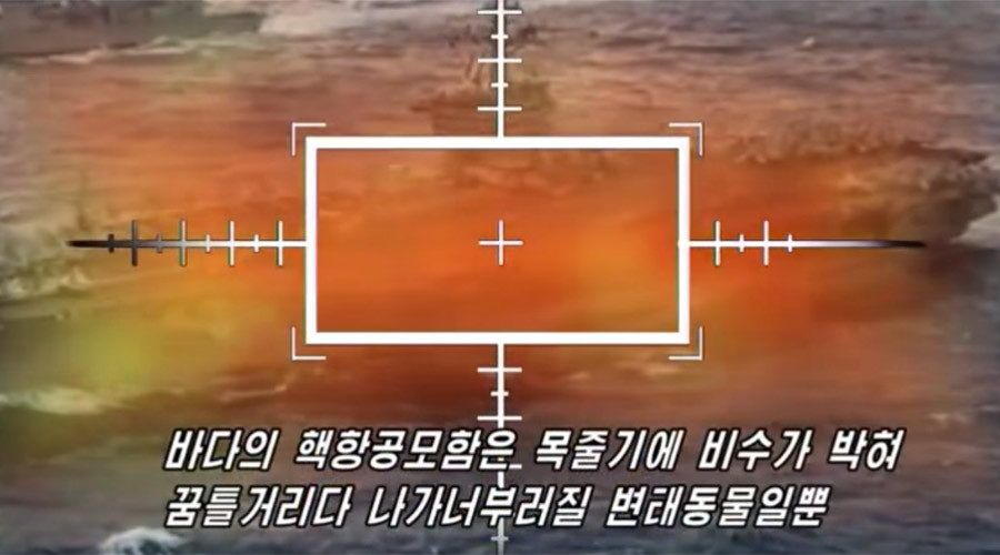 North Korea 'destroys US targets' in Hollywood-style 'propaganda' video