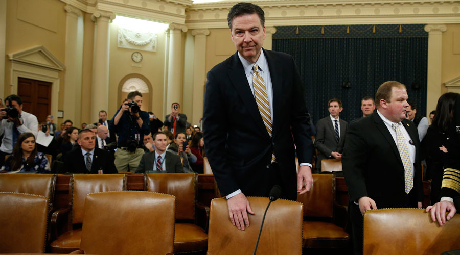 'FBI Director James Comey must go'