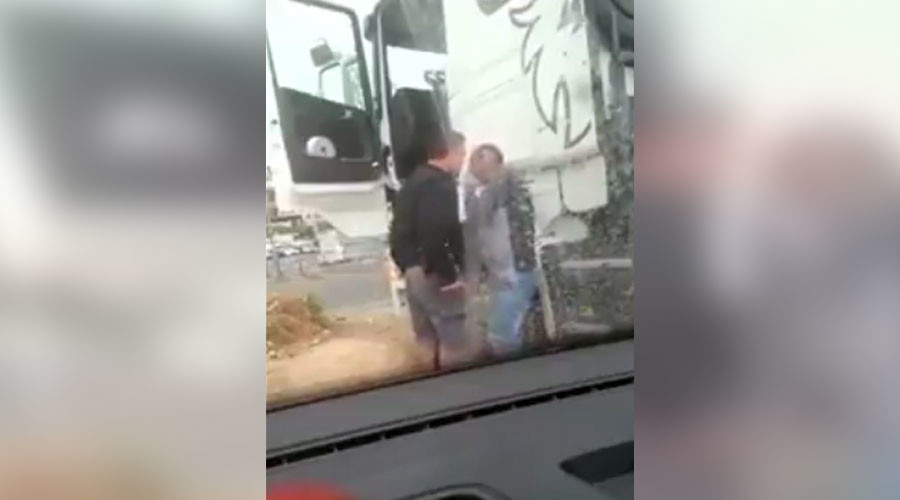 Israeli officer filmed assaulting Palestinian driver, police open probe (VIDEO)