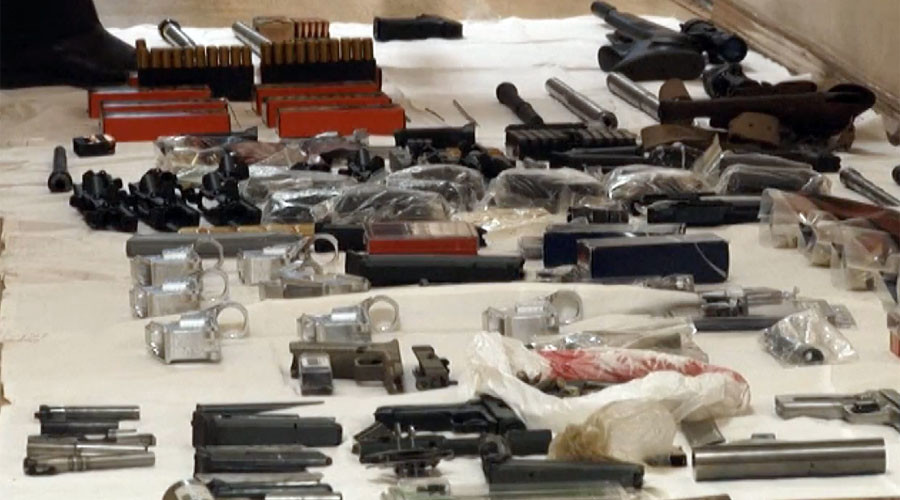 Arms smugglers used postal service to deliver weapons from US to Russia – FSB (VIDEO)