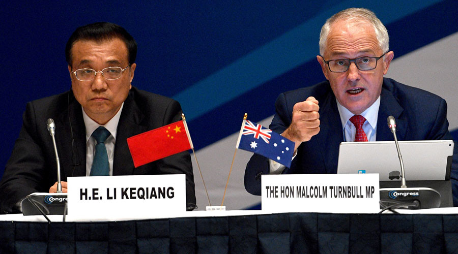 'We have a strong ally in Washington & a good friend in Beijing' – Australian PM