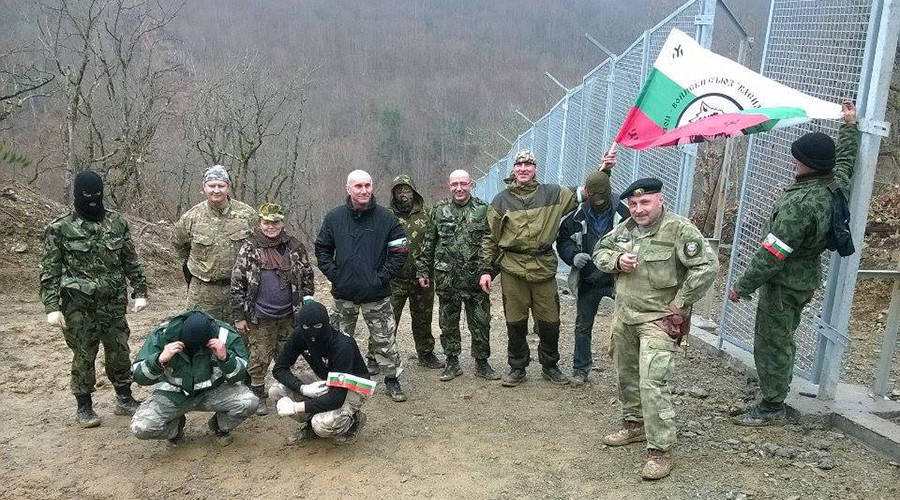 Bulgarian activists erect border fence to deter Turkish 'election provocations'