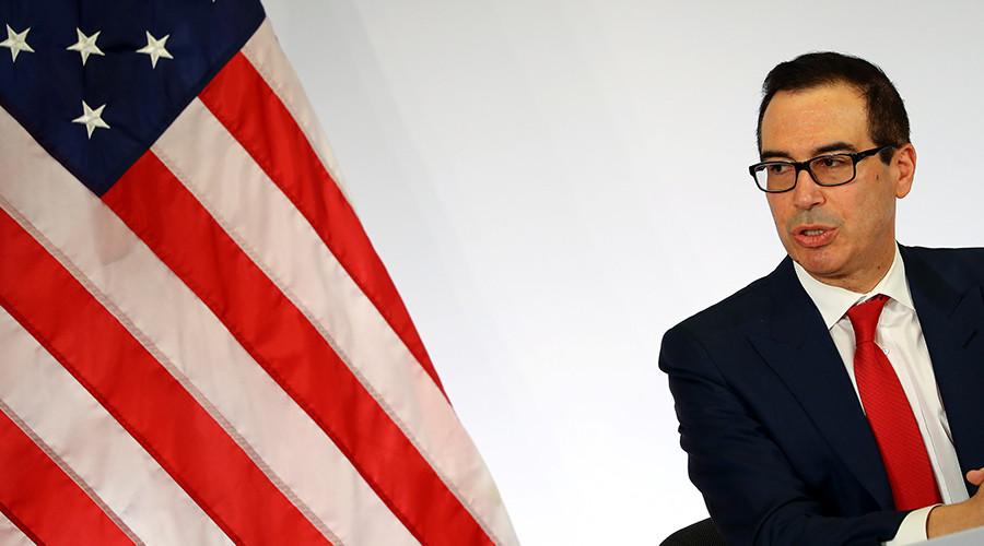 Treasury secretary under fire for 'Lego Batman' joke