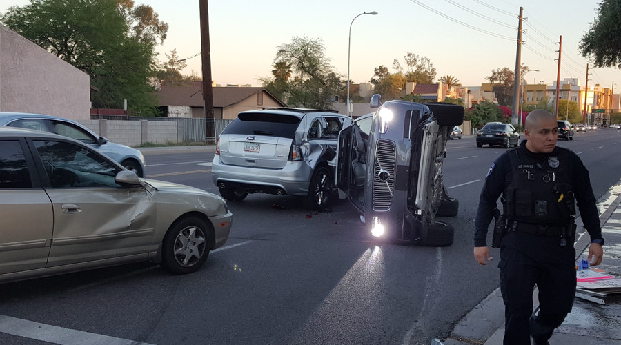Uber lifts suspension of self-driving tests after autonomous vehicle crash in Arizona (VIDEO, PHOTO)