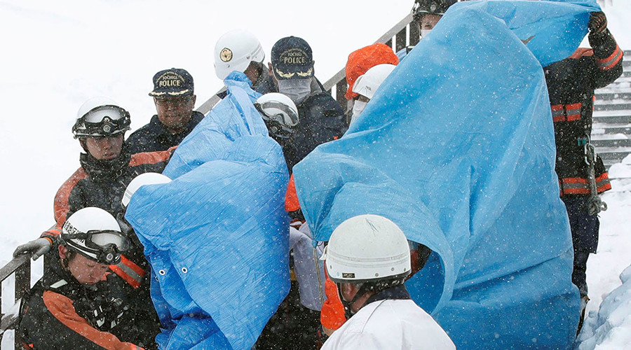 Avalanche kills 8, injures 30 on high school trip in Japan