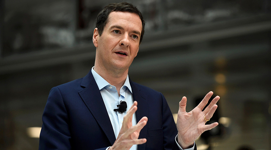 George Osborne can't be an MP AND a newspaper editor at same time, say constituents