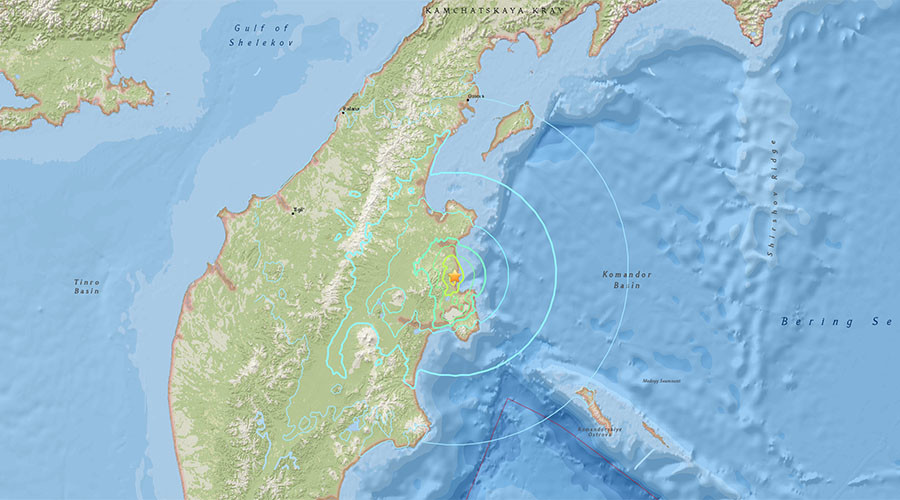 6.6 quake rocks Russia's far eastern Kamchatka Region
