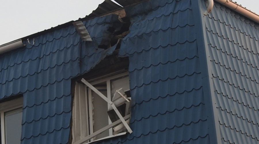 'Act of terrorism': Polish consulate in western Ukraine comes under rocket fire (PHOTOS)