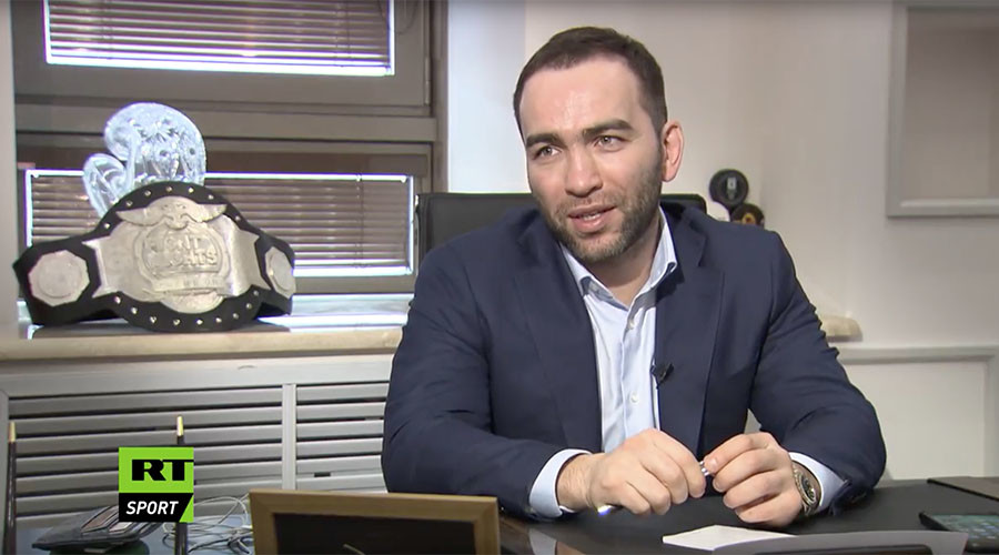 'We're Fight Nights Global, forget Eurasia': MMA promotion president Kamil Gadzhiev to RT Sport