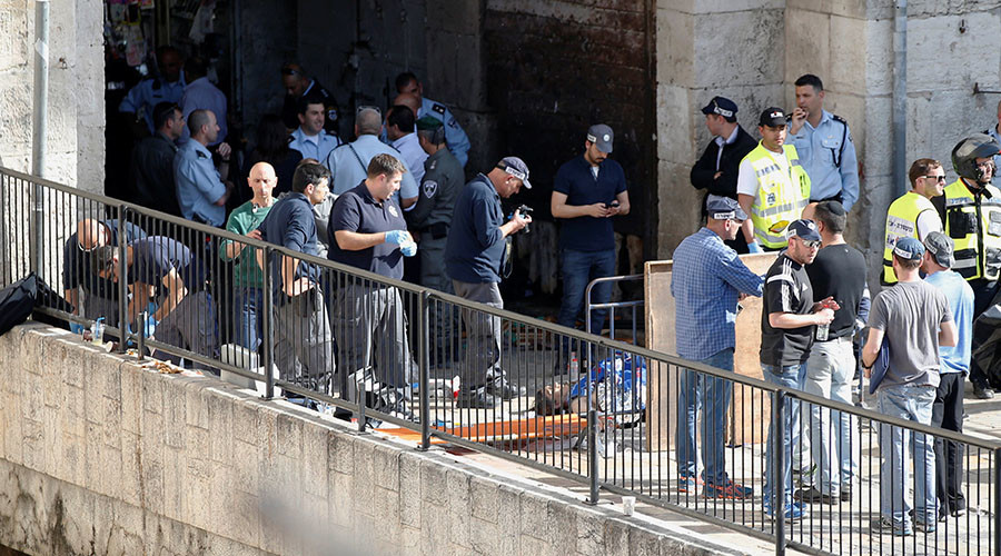 Mother of killed Palestinian shot dead during attempt to stab Israeli police officers