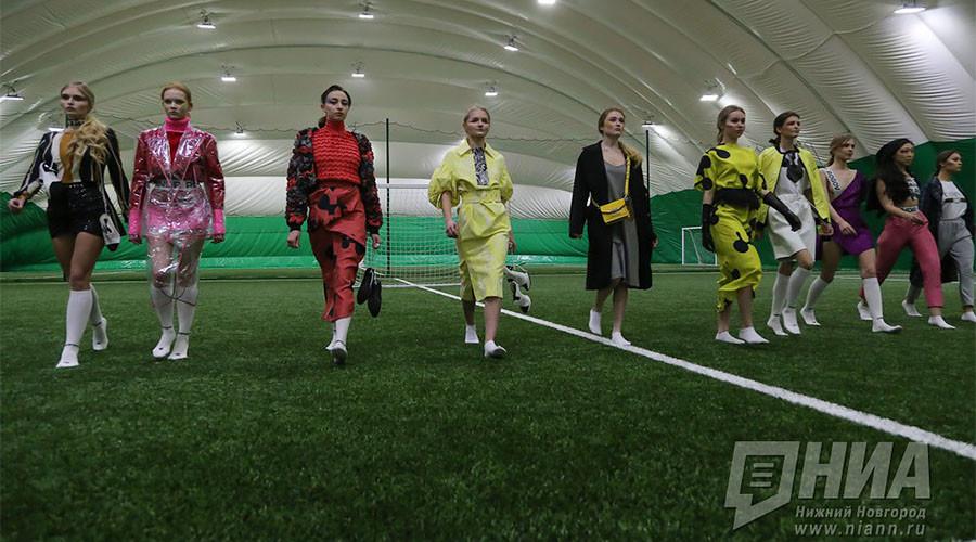 Glamour girls of Nizhny Novgorod play in inaugural 'Beautyball' tournament (PHOTOS)