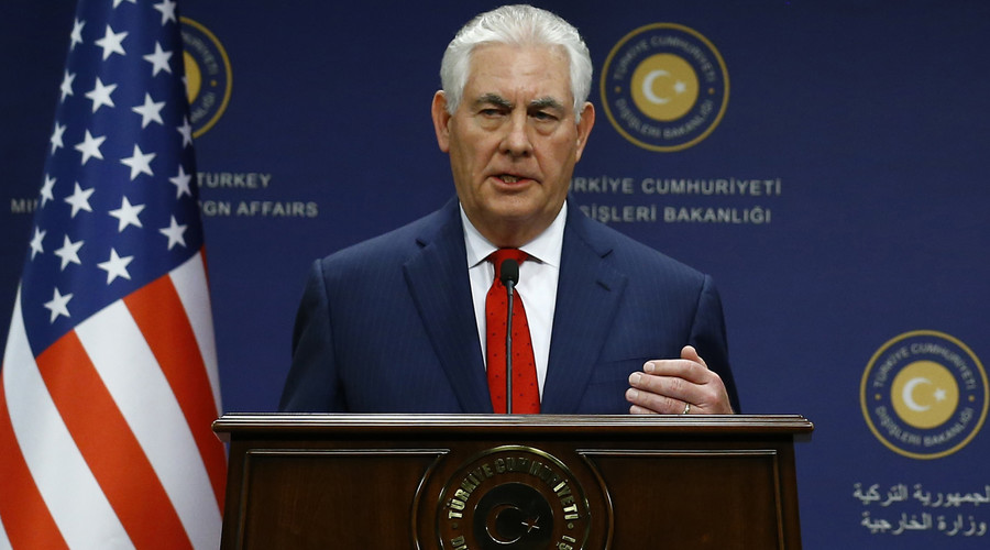 Assad's fate 'to be decided by Syrian people,' says Tillerson
