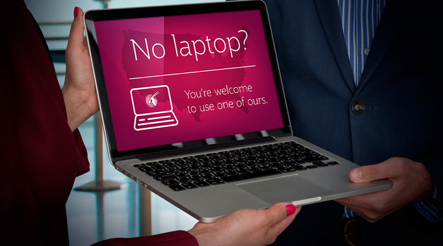 Qatar & Etihad Airways offer free laptops, tablets on US flights to circumvent electronics ban