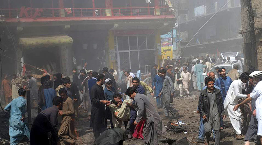 22 killed, up to 70 injured in Pakistan mosque explosion (PHOTOS, VIDEO)