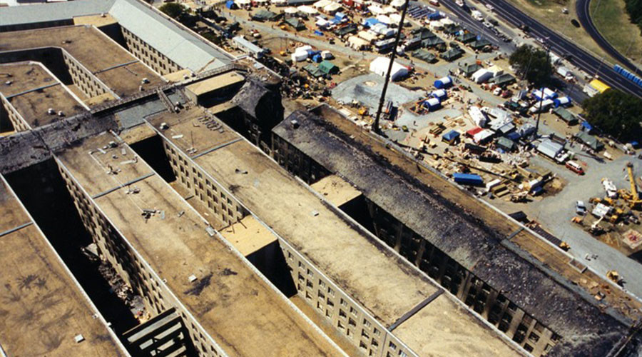 FBI releases previously unseen images of 9/11 Pentagon attack (PHOTOS)