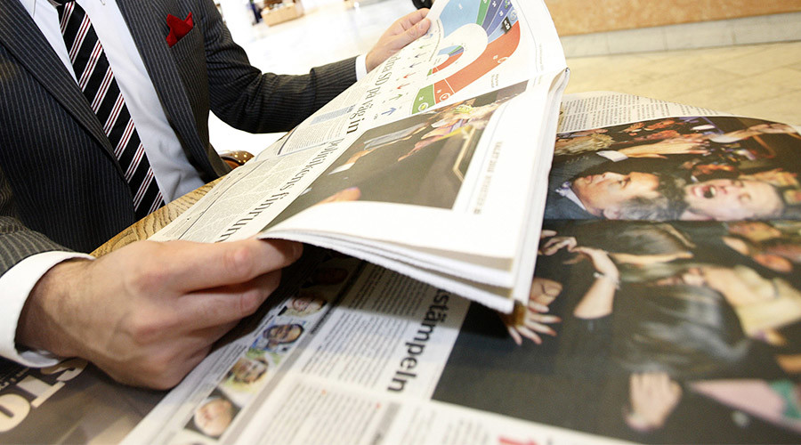 Swedish, Norwegian newspapers to ditch April Fools' stories amid 'fake news' concerns