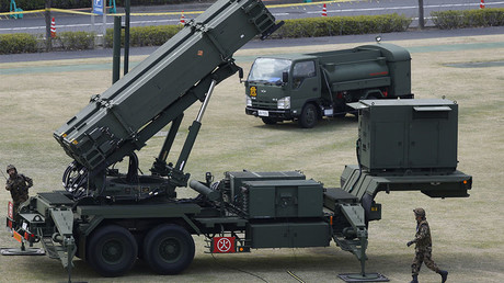 FILE PHOTO: Patriot Advanced Capability-3 (PAC-3) missiles © Issei Kato