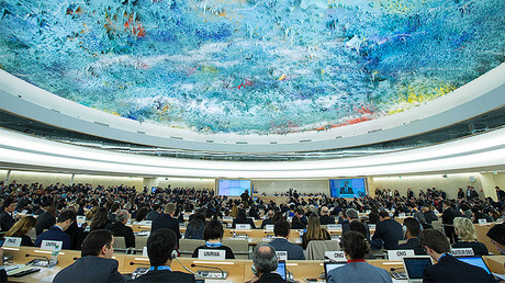 UN Human Rights Council (HRC) © Xu Jinquan