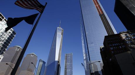 One World Trade Center tower in New York City. ©Mike Segar