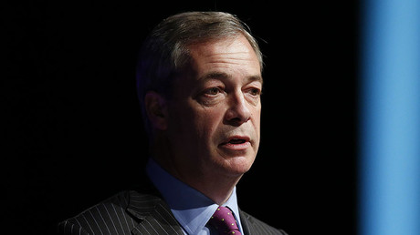 Former United Kingdom Independence Party (UKIP) leader Nigel Farage. © Andrew Yates