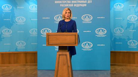 Russian Foreign Ministry Spokesperson Maria Zakharova © Mikhail Voskresenskiy